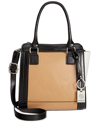 Giani Bernini Florentine Glazed Leather Mini Crossbody