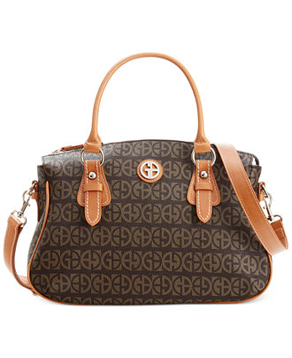 Giani Bernini Block Signature Bell Satchel