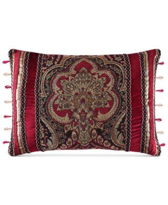 """J Queen New York Berkshire 21"""" x 15"""" Boudoir Decorative Pillow"""