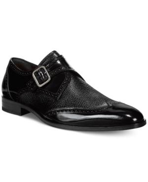Mezlan Senator Monk Strap Loafers Men's Shoes