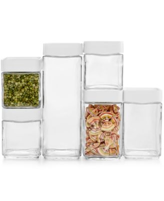 Martha Stewart Collection 12 Pc. Stack & Store Food Storage Set, Only at Macy's