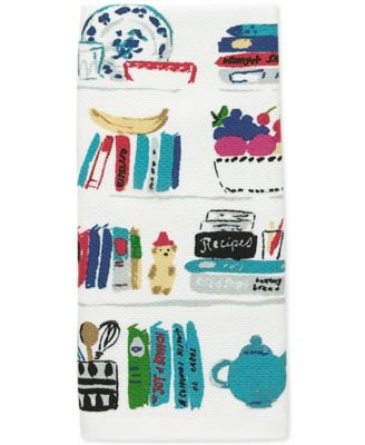 kate spade new york all in good taste Cookbook Kitchen Towel