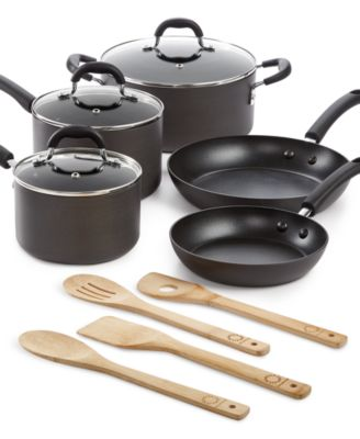 Martha Stewart Collection Hard Anodized 12-Pc. Cookware Set, Only at Macy's