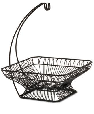 Gourmet Basics By Fruit Basket & Banana Wire Hanger