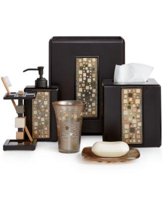 croscill bath mosaic bath accessories