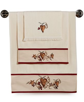 Avanti Bath, Heart and Stars Hand Towel