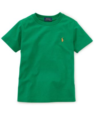 Ralph Lauren Little Boys' Crewneck Jersey Tee