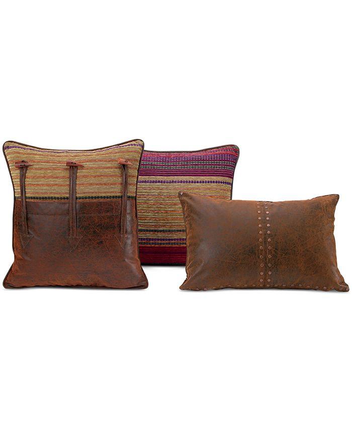 """Croscill - Plateau 20"""" Square Toggle Decorative Pillow"""
