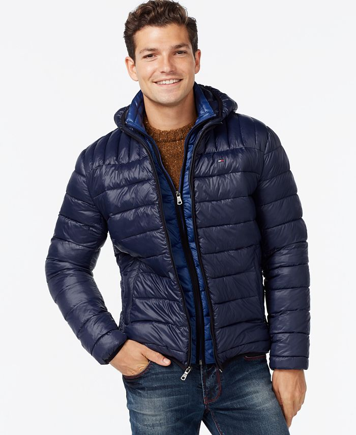 Tommy Hilfiger - Hooded Packable Jacket