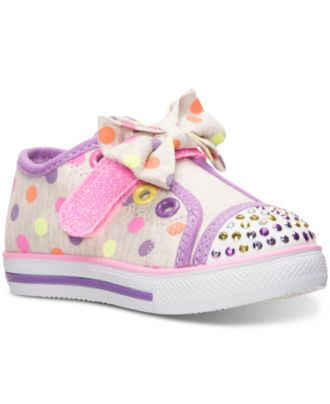 Skechers Toddler Girls' Twinkle Toes: Chit Chat - Flighty Flare Casual Sneakers from Finish Line