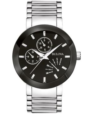 Bulova Men's Stainless Steel Strap Watch 40mm 96C105