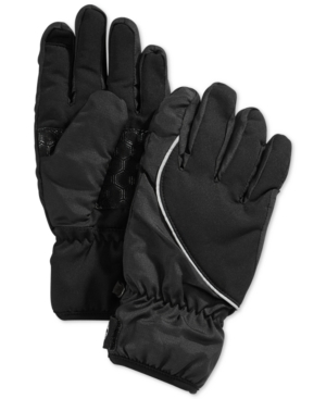 Timberland Gloves, Windproof Pop Color Piping Touchscreen Gloves