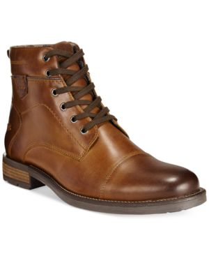 Alfani Jack Cap Toe Boots, Only at Macy's Men's Shoes
