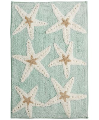 "Avanti Bath, Sequin Shells 20"" x 30"" Bath Rug"