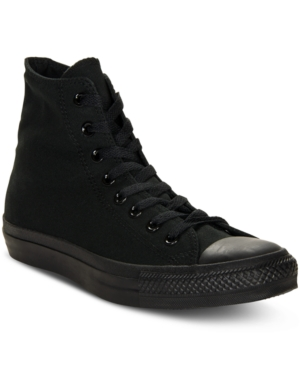 Converse Shoes, Monochrome Chuck Taylor Hi Tops from Finish Line
