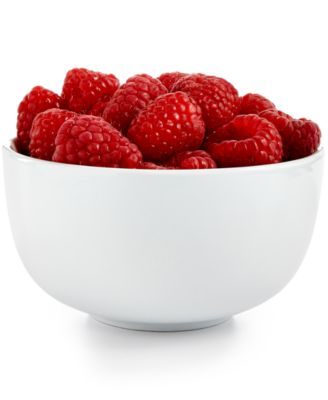 The Cellar Whiteware Round Fruit Bowl