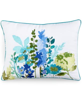 "bluebellgray Cameron 12"" x 16"" Tetubury Herb Embroidery Decorative Pillow"