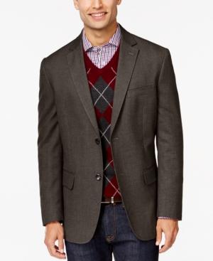 Tasso Elba Brushed Cotton Sport Coat Only at Macys $74.99 AT vintagedancer.com