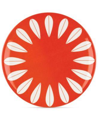 Dansk The Burbs Collection Melamine Marigold Dinner Plate