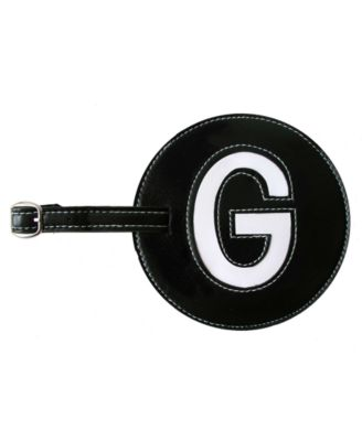 Initial Luggage Tag G