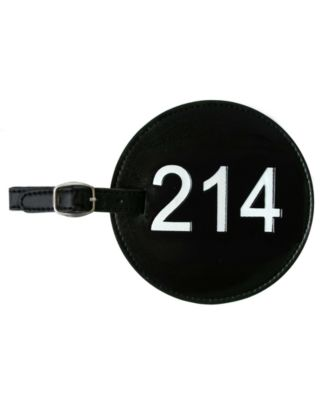 Area Code Luggage Tag 214