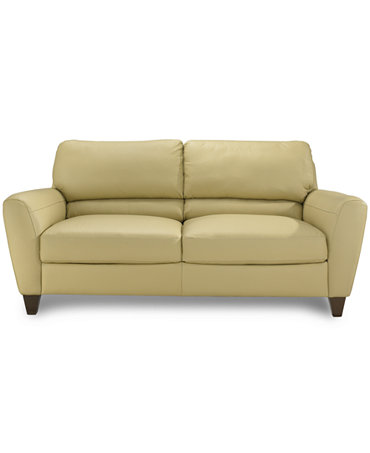 Almafi Leather Sofa Furniture Macy 39 S