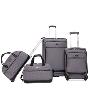 Closeout! Jessica Simpson Capri 4 Piece Luggage Set