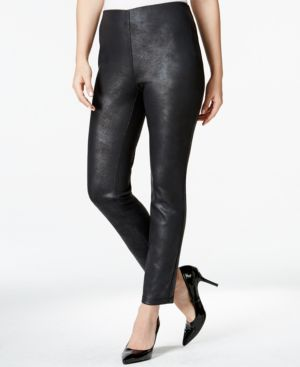 Style & Co. Coated Scuba Leggings, Only at Macy's