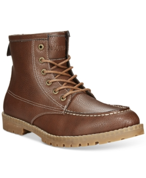 Nautica Madryn Moc-Toe Boots Men's Shoes