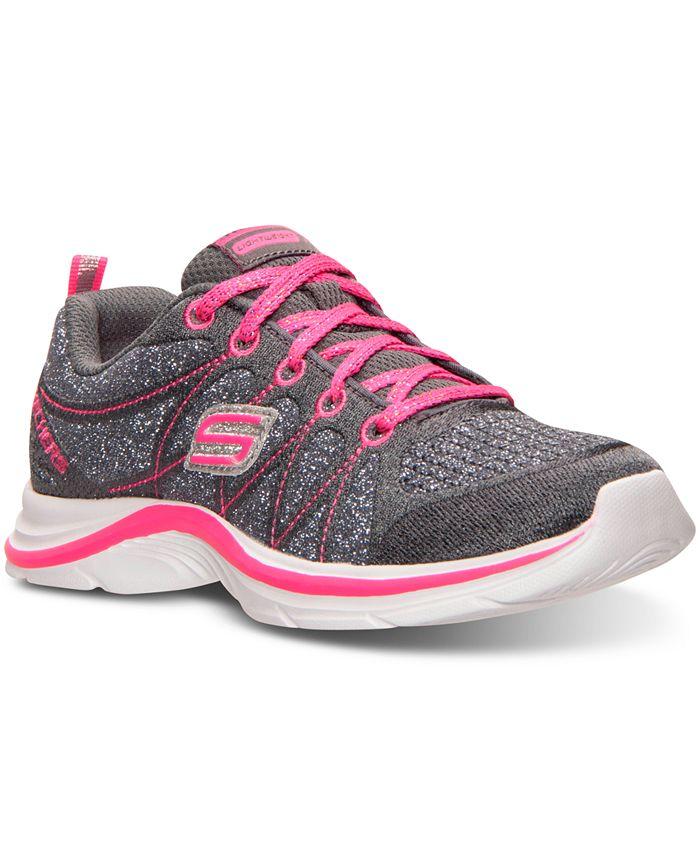 Skechers - Little Girls' Swift Kicks - Bling Thing Training Sneakers from Finish Line
