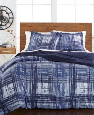 Jasper Plaid Reversible 3-Pc. Full/Queen Comforter Set