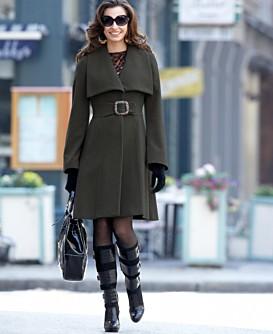 Macy*s - Women's - Jessica Simpson Shawl-Collar Coat with Belt
