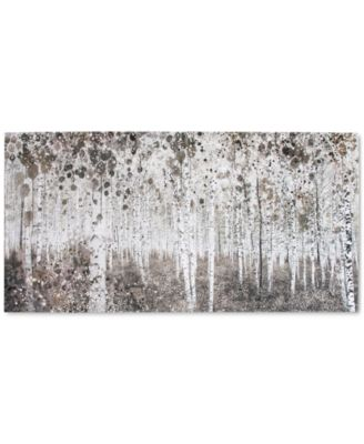 Graham & Brown Birch Forest Watercolor Wall Art