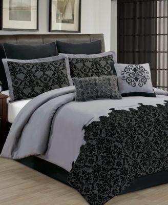 Vivianne 8-Piece King Comforter Set