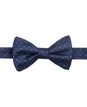 Ryan Seacrest Distinction Fairfax Pin Dot To-Tie Bow Tie Only at Macys $49.50 AT vintagedancer.com