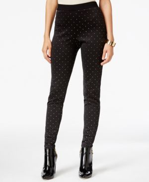 Ny Collection Studded Skinny Pants
