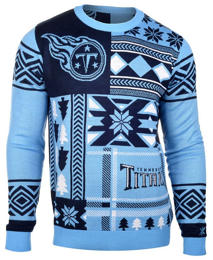 Forever Collectibles - Men's Tennessee Titans Patches Christmas Sweater