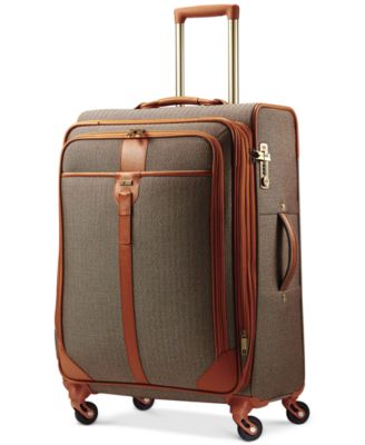 "Hartmann Herringbone Luxe 25"" Medium Journey Expandable Spinner Suitcase"