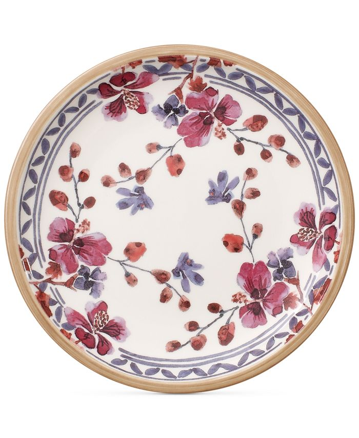 Villeroy & Boch - Artesano Provencal Lavender Collection Porcelain Bread & Butter Plate