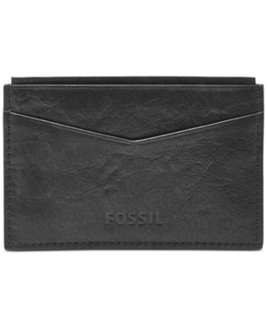 Fossil Ingram Card Case Leather Wallet