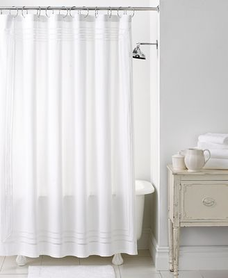 Martha Stewart Collection Bath Accessories Trousseau Shower Curtain Shower Curtains Macy 39 S