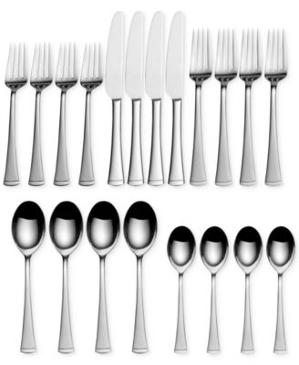Gourmet Basics by Mikasa Flatware, Contempo 20 Pc Set, Service for 4