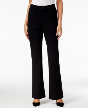 Style & Co. Ponte Knit Flare-Leg Pants, Only at Macy's