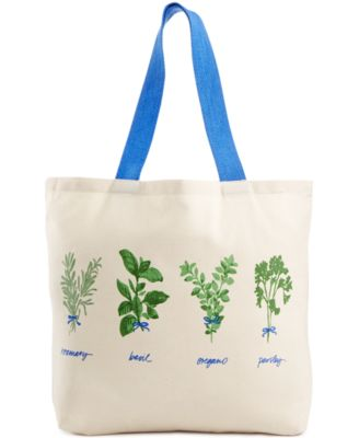 Martha Stewart Collection Hand Picked Herbs Tote, Only at Macy's