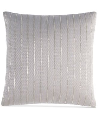 "Hotel Collection Keystone 16"" Square Decorative Pillow, Only at Macy's"