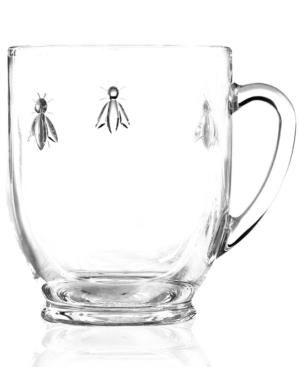 French Home La Rochere Napoleonic Bee 12 oz. Mug with Handle, Set of 6