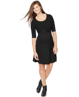 Motherhood Maternity A-Line Sweater Dress plus size,  plus size fashion plus size appare