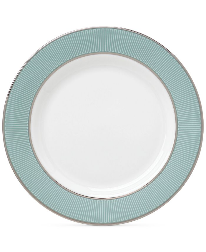 Lenox - Clara Aqua Collection Bone China Butter Plate