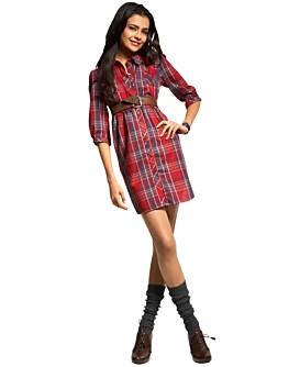 Macy*s - Women's - Mimi Chica Plaid Shirt Dress