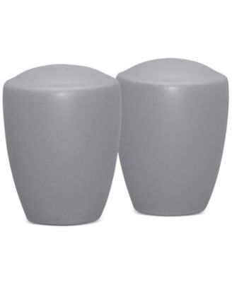Noritake Colorwave Slate Stoneware 2-Pc. Salt & Pepper Shakers, A Macy's Exclusive Style